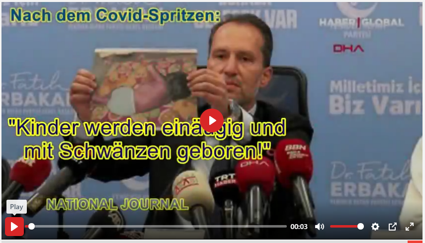 ERBAKAN ZUM COVID-SPRITZEN: